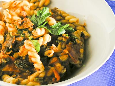 Pasta with Scungilli